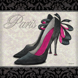 Pink Shoes Square II Prints by Williams Todd