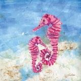 Ocean Seahorses Posters by LuAnn Roberto