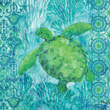 Turtle Batik Sq Prints by Paul Brent