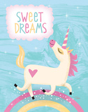 Unicorn I Prints by Teresa Woo