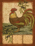 Tuscan Rooster I Print by Brent Paul