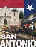 San Antonio Print by Williams Todd