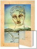 Naissance d'une divinite Wood Print by Salvador Dali