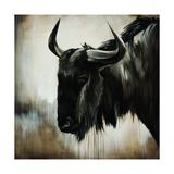 Wild Beast Giclée-tryk af Sydney Edmunds