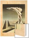 J'ai vu 3 cites 1944 Wood Print by Kay Sage