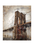 The East River Bridge Giclee Print by Alexys Henry