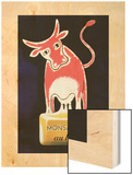 Monsavon au lait 1949 Wood Print by Raymond Savignac