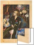 Le malade d'amour, 1916 Wood Print por George Grosz