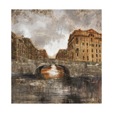 Euro City Bridge Giclee Print by Alexys Henry
