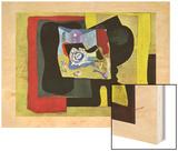 Je ne m'en souviens pas Wood Print by Salvador Dali