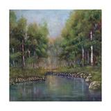 Twilight Pond Giclee Print by Jason Javara