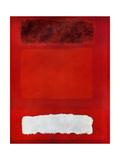 Rouge blan et brun 20eme Płótno naciągnięte na blejtram - reprodukcja autor Mark Rothko