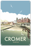 Cromer, Norfolk Tin Sign