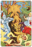 The Wizard of Oz - Characters Blechschild