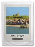 Whitby, Yorkshire Tea Towel Novelty