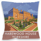 Harewood House, Yorkshire Cushion Throw Pillow
