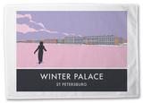Winter Palace, St. Petersburg Tea Towel Novelty