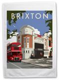 Ritzy Cinema in Brixton, South London Tea Towel Novelty