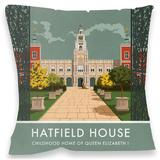 Hatfield House, Hertfordshire Cushion Throw Pillow