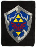 Nintendo Zelda Shield Fleece Blanket Fleece Blanket
