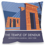 The Temple of Dendur, New York Cushion Throw Pillow