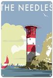 The Needles, Isle of Wight Plaque en métal