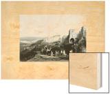 Bethlehem Wood Print