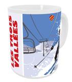 Les Trois Vallees, France Mug Mug