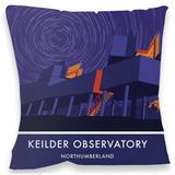 Keilder Observatory Cushion Throw Pillow
