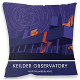 Keilder Observatory Cushion Throw Pillow