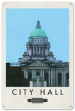 Belfast City Hall, Ireland Tin Sign