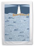 The Shipping Forecast Tea Towel Novelty
