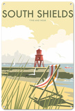 South Shields, Tyne and Wear Tin Sign