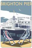 Brighton Pier Tin Sign