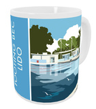 Tooting Bec Lido, London Mug Mug
