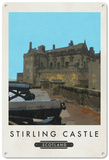 Stirling Castle, Scotland Tin Sign