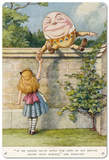 Alice in Wonderland - Humpty Dumpty Blechschild