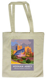 Hexham Abbey, Northumberland Tote Bag Tote Bag