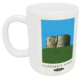 Cliffords Tower, Yorkshire Mug - Mug