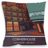 Cornerhouse, Manchester Cushion Throw Pillow