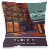 Cornerhouse, Manchester Cushion Throw Pillow