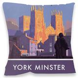 York Minster Cushion Throw Pillow