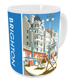 Brighton Beach, East Sussex Mug Mug