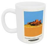 Bamburgh Castle, Northumberland Mug Mug