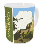 Edinburgh Castle, Scotland Mug Mug