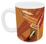 Forth Road Bridge, Edinburgh Mug - Mug