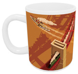 Forth Road Bridge, Edinburgh Mug Mug
