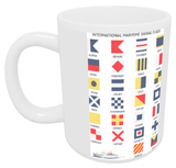 Nautical Flags Mug Mug