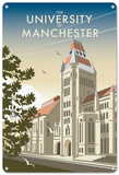 The University of Manchester Tin Sign