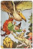 The Wizard of Oz - Scarecrow Blechschild